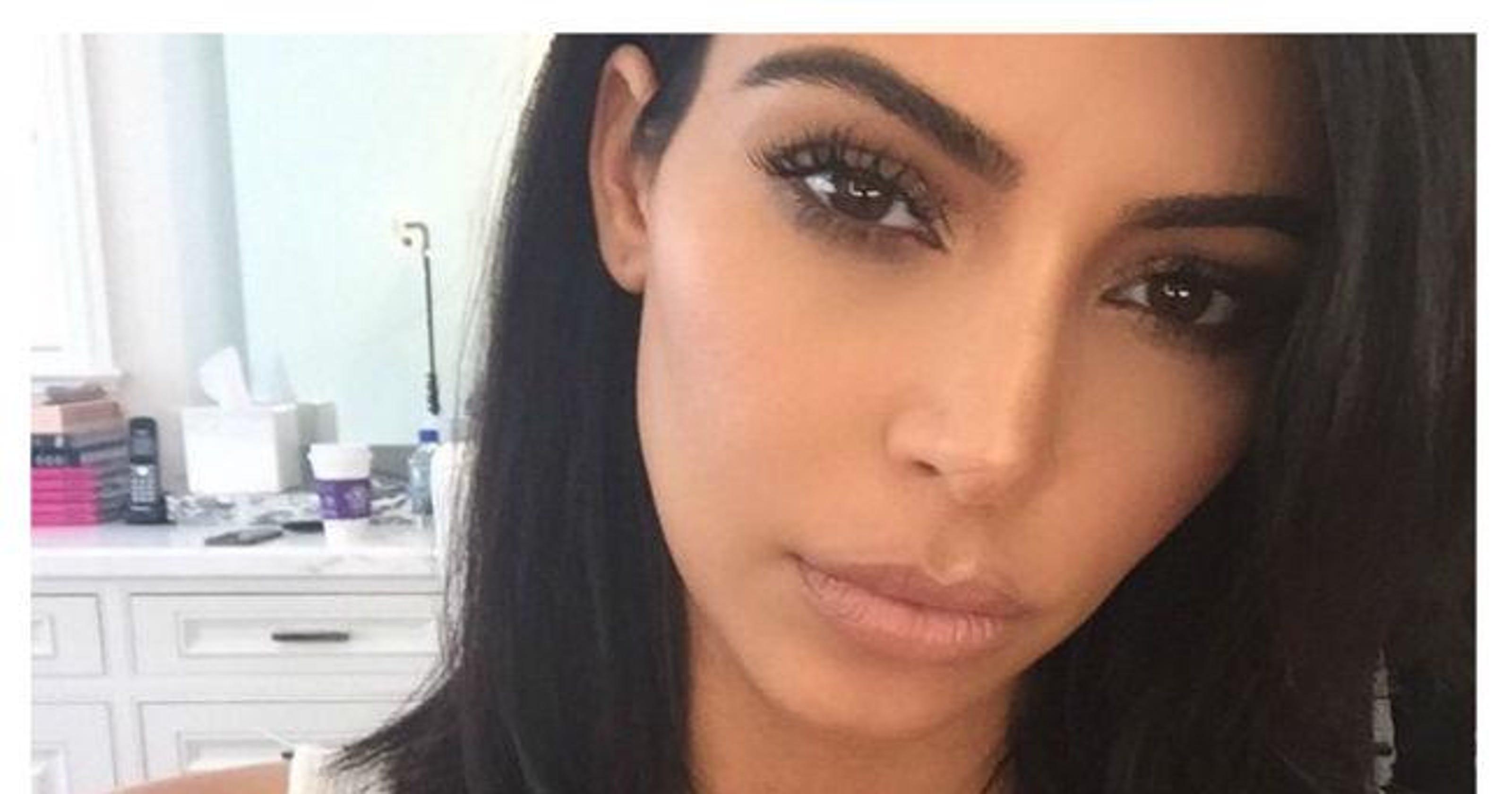 Kim Kardashian West Debuts Short Haircut