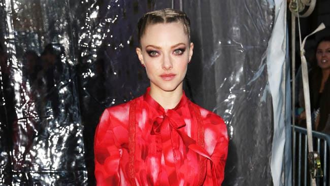 Amanda Seyfried at premiere of 'While We're Young.'