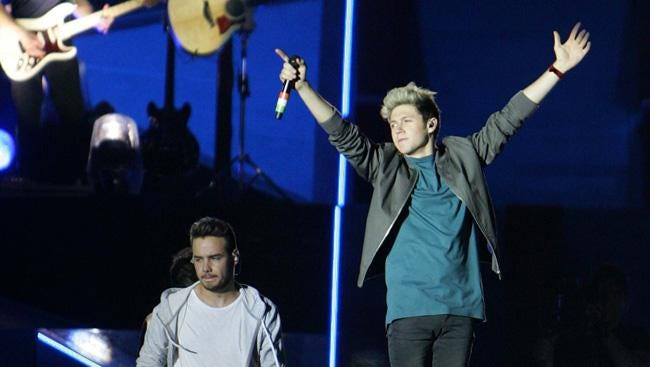One Direction's Liam Payne and Niall Horan