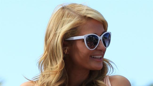 Paris Hilton with Tinkerbell.