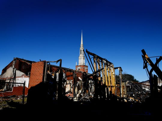 On Dec. 10 a fire destroyed about 75 percent of the First Bossier Baptist Church campus.
