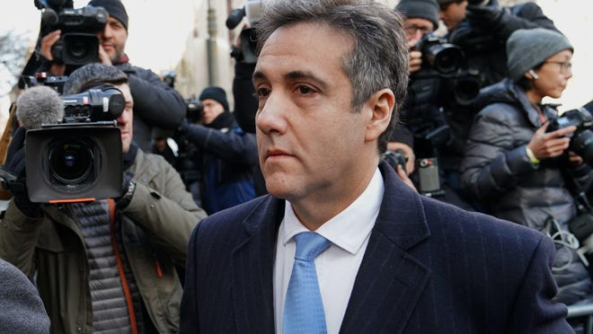 President Donald Trumps former attorney Michael Cohen