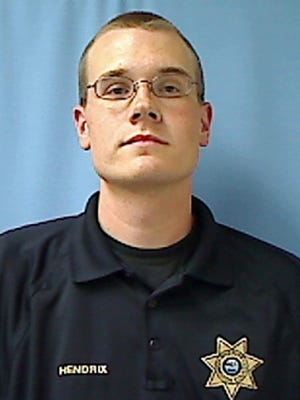 This undated photo provided by the Hamilton County Sheriff's Office shows Hamilton County Tenn. Deputy Daniel Hendrix. Hendrix, an off-duty deputy with the Hamilton County Sheriff's Office was shot and killed Wednesday, March 29, 2017, by Chattanooga police. Authorities said Wednesday that Hendrix, who was celebrating his birthday with friends, drew his gun, became agitated and refused commands to drop the weapon.