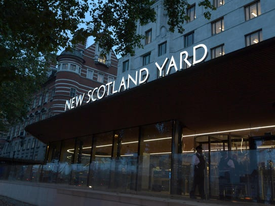 The New Scotland Yard building serves as the headquarters