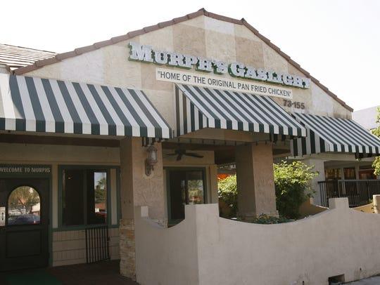 Murph's Gaslight restaurant in Bermuda Dunes.