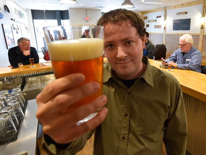 Owner Patrick Surfus of Starboard Brewing Co., 151