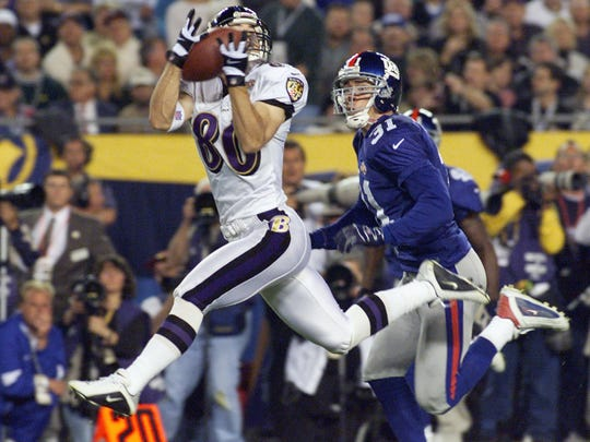 Former UL receiver Brandon Stokley really jumped onto the national scene when he caught a touchdown pass in the Super Bowl to help the Baltimore Ravens cruise past New York's Giants to win the Vince Lombardi Trophy.