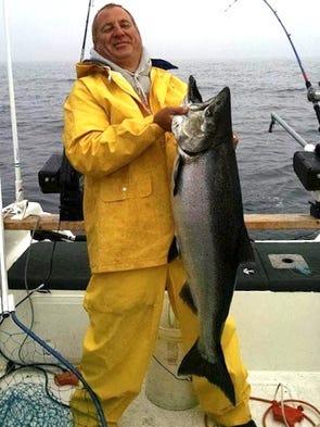 Lake michigan fishing report for sept 9 for Kewaunee fishing report