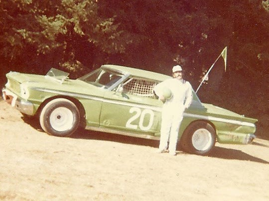 Cordell Sunkel with one of his cars.