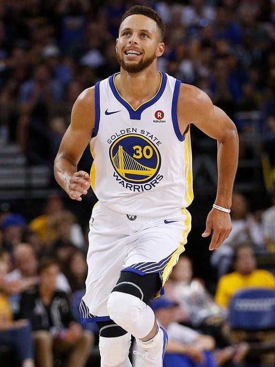 Stephen Curry scores 40, Golden State Warriors beat ...