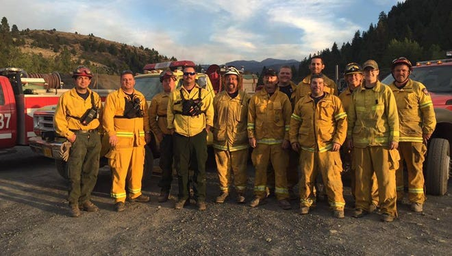 A 12-person crew comprised of men and women from across the Willamette Valley has returned to the area after they helped fight the Canyon Creek Complex fire south of John Day.
