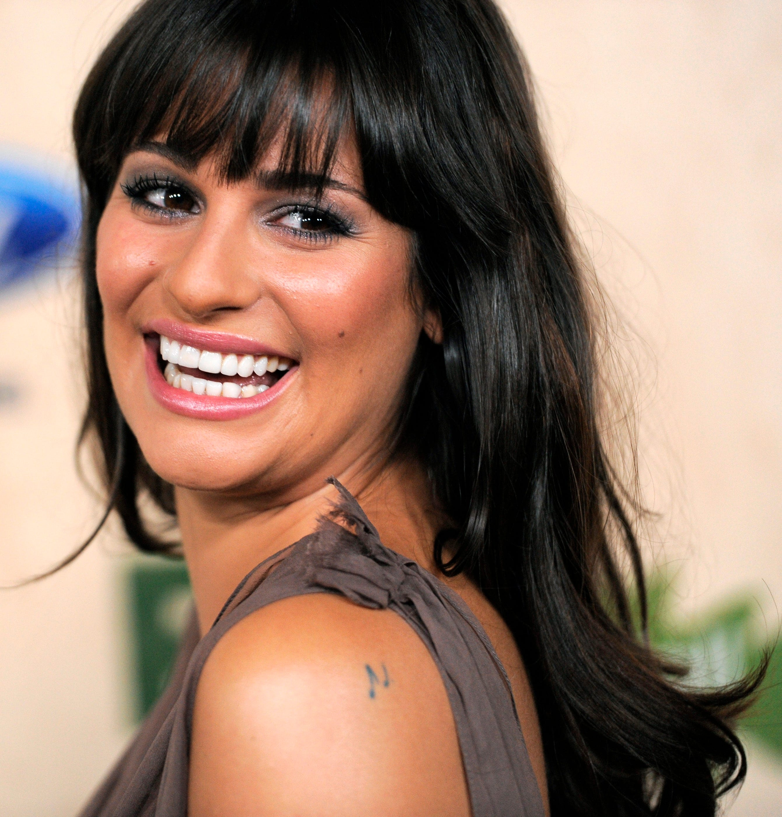 Lea Michele told David Letterman in 2012 that she has 14 tattoos ...