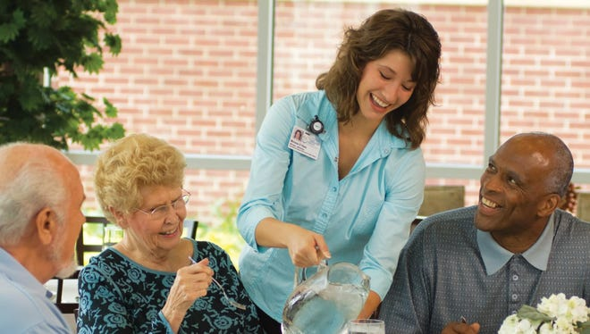 """""""This diet is for anybody across the lifespan,"""" Chris Vaughn, nutrition care manager at Good Samaritan Society's Fort Collins Village, says. """"But it works best for older adults who have or are at risk for developing dementia or Alzheimer's."""""""