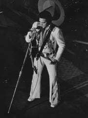 Elvis Presley performed for a packed house at the U.S. Cellular Center (then called the Civic Center) on July 22 and 23, 1975.