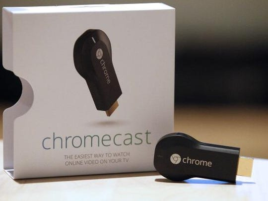 The new Google ChromeCast makes a perfect gift for any digital dad.