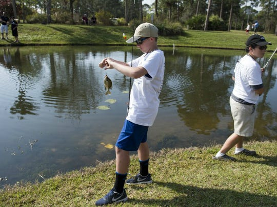 There will be two free kids fishing clinics the next