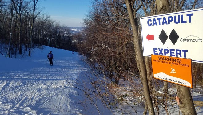 A look at Catamount Ski Area in New York.