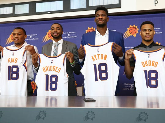 The Phoenix Suns fared very well in the 2018 NBA draft,