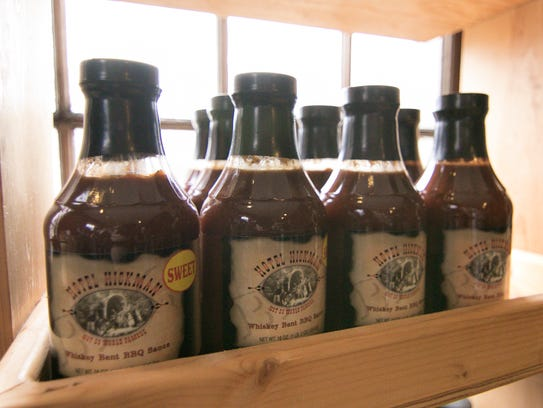 Hotel Hickman Whiskey Bent BBQ Sauce, shown Thursday,