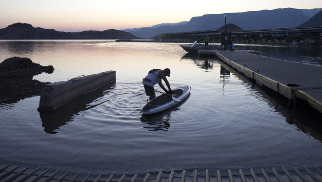Federal forecasters think there's a better-than-even chance that Lake Mead will suffer a shortage by 2018.