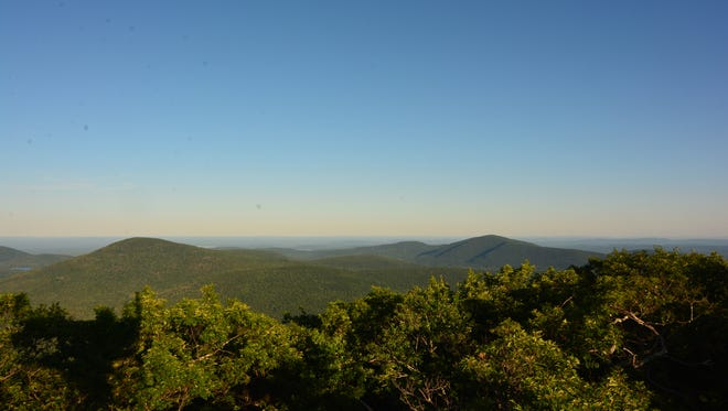 The view from the top of Mount Tremper makes it worth the arduous hike up.