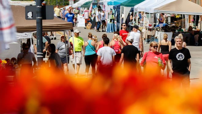 Falls Memorial Fest in downtown Menomonee Falls is scheduled to return on May 29, 2021. The event was canceled in 2020 because of the COVID-19 pandemic.