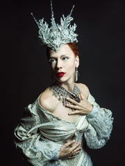 """Karen Sternberg as the White Witch in """"The Lion, the"""