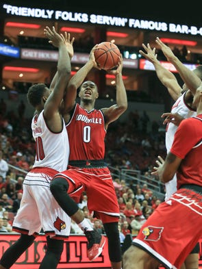 Louisville basketball what we learned from the second for King fish louisville