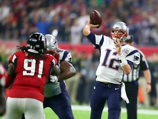 In winning his fifth Super Bowl and fourth Super Bowl MVP, Tom Brady passed for a record 466 yards.