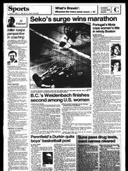 Battle Creek Sports History - Week of April 23, 1987