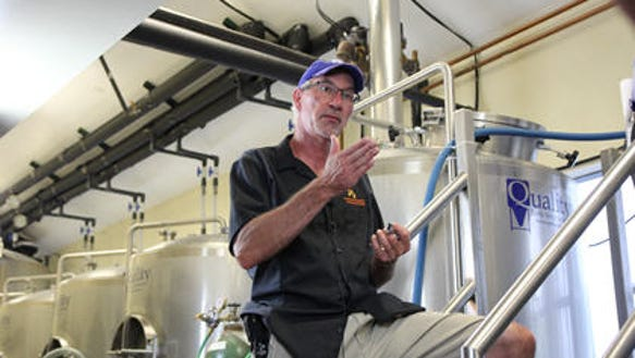 Tom Block, who will be teaching Brewhouse Operations