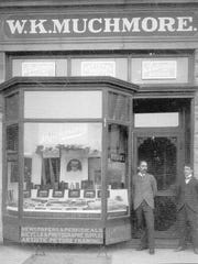 WK Muchmore store, Speedwell Avenue, Morristown, undated.