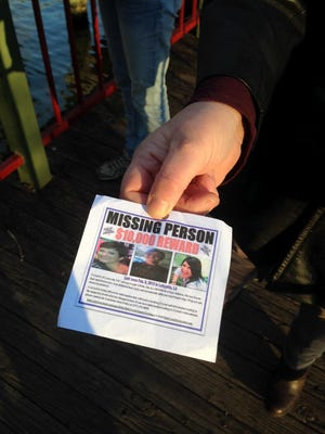 Family and friends gather at Girard Park Monday night to mark three years since Crystal Grebinger was last seen.