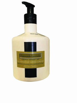 Lafco New York's Reparative Hand Cream comes in a basic white container so it will blend into any décor.
