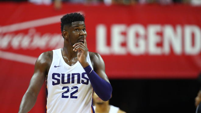 The Phoenix Suns selected Deandre Ayton No. 1 overall in the 2018 NBA draft.