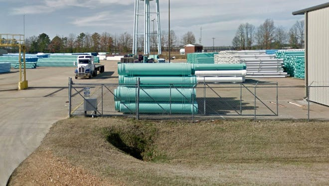 North American Pipe plant in Boonville, Miss.