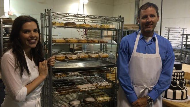 Jessica and Dan Fishelson, owners of Bob and Bonnie's Donuts and Cakes in Fond du Lac, recently purchased a new building and plan to relocate by December.
