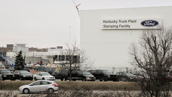 Ford's Kentucky Truck Plant.