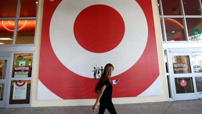 A Target store is seen on Dec. 19, 2013, in Miami.