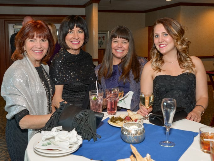 Claudia Brennan, Jeanne Stevens, Mary Ladd and Casey