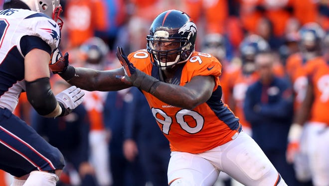 Shaun Phillips spent one year with the Broncos.