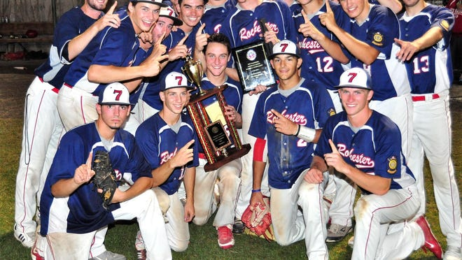 Rochester Post 7 won its first Senior Legion state title in 23 years in 2013 by beating Concord, winning five games by a total of nine runs.