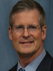 Dr. Thad Anglin, president of Cisco College