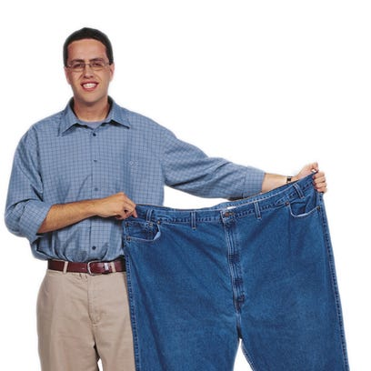 Jared Fogle known as the Subway guy after the diet