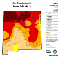 USDA designates Eddy County disaster area due to drought