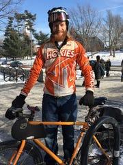 UVM graduate student Andrew Reagan of Syracuse, N.Y.