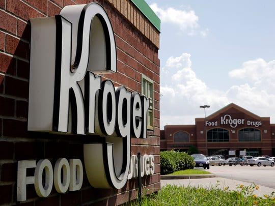 A Kroger store in Houston.