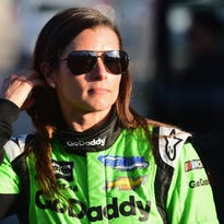 Danica Patrick will be on 'Tonight Show' Tuesday, talks Aaron Rodgers at Pole Day