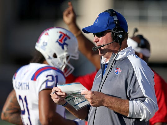NCAA Football: Louisiana Tech at Southern Mississippi