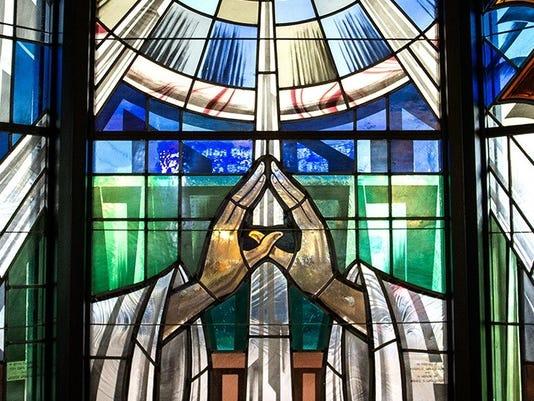 POST CHAPEL WINDOW